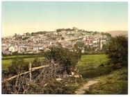 Golygfa gyffredinol, Dinbych, Cymru, c.1890