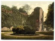 Abergavenny Castle, Wales, c.1890