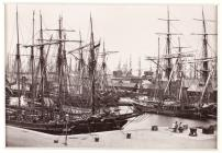 The Bute Docks, With Shipping, Cardiff c.1880