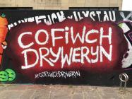 'Cofiwch Dryweryn' mural, Cardiff