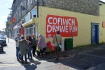 Murlun 'Cofiwch Dryweryn', Pen-y-bont ar Ogwr