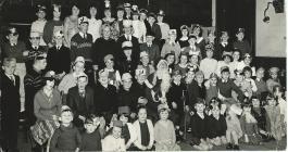 Parti Nadolig Pant Caersws c1965