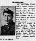 Deiniol Peris Morgan, Bangor (1916)