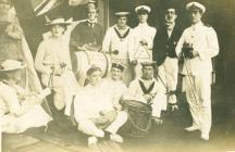 HMS MANTUA, Rio de Janeiro (1917)