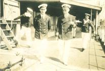 Edward F. Dawson a R. H. Griffin ar HMS MANTUA ...