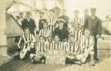 Stokers football team of the HMS MANTUA (1918)