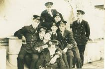 Officers of the HMS MANTUA (c.1918)
