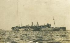 HMS MANTUA yn Sierra Leone (c.1918)