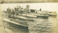 Llongau tanfor yn Gibraltar (1918)