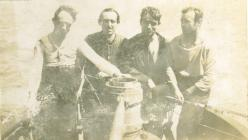 Ar y môr ger Ynys Alboran  (1918)