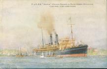 Cerdyn post yr HMS MANTUA (1919)