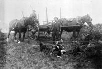 Labourers at Buarthfa Farm Blackmill
