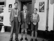 Newcastle Emlyn people in the 1950s