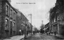 Lower portion of High Street, Ogmore Vale.