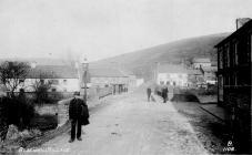 Postman in Blackmill Village