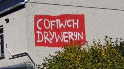 'Cofiwch Dryweryn' mural, Ammanford