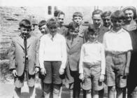 Dosbarth Ysgol Sul Castellnewydd Emlyn 1950