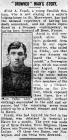 """""""DROWNED"""" MAN'S STORY (1915)"""