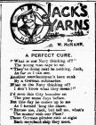 JACK'S YARNS: A PERFECT CURE (1915)