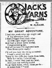 JACK'S YARNS: MY GREAT ADVENTURE (1915)