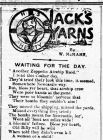 JACK'S YARNS: WAITING FOR THE DAY (1915)