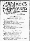 JACK'S YARNS: AVENGED HIS SON (1915)