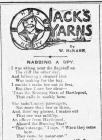 JACK'S YARNS: NABBING A SPY (1915)