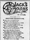 JACK'S YARNS: ANOTHER SUBMARINE (1915)