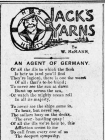 JACK'S YARNS: AN AGENT OF GERMANY (1915)