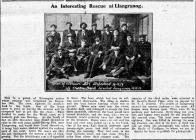 An Interesting Rescue at Llangranog (1918)