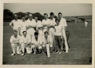 Dinas Powys 2nd Cricket Team 1963.