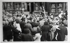 Travis Street Coronation Party 1953, Domino Club.