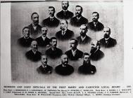 Members and Chief Officials of the First Barry...