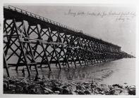 Construction of Western Breakwater