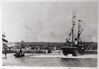S.S. Ferguson Entering Barry Docks