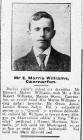 Edward Morris Williams, Caernarfon (1915)