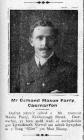 Osmond Mason Parry, Caernarfon (1915)
