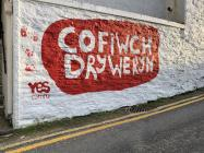 'Cofiwch Dryweryn' mural, Llangrannog