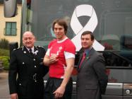 White Ribbon Launch with Welsh Rugby Union in 2009