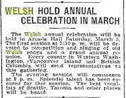 David's Day Celebrations in Seattle 1910