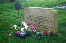 Gavestone at Lamphey churchyard