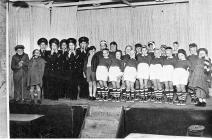 Ysgol Bwlchygroes action song, late 1950s