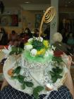 Easter bonnet, made by a Tuesday Lunch Club member
