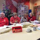 Singing at Christmas Party, Tuesday Lunch Club