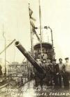 GERMAN SUB UB-91 CARDIFF, WALES, ENGLAND