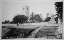 The Church & Old Cross, Llanblethian.