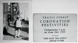 Travis Street Coronation Festivities Invitation.