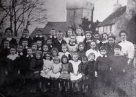 Porthkerry School Class Photograph.