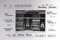 F. J. Greener, Leading Jeweller