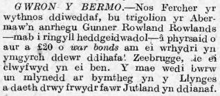 GWRON Y BERMO